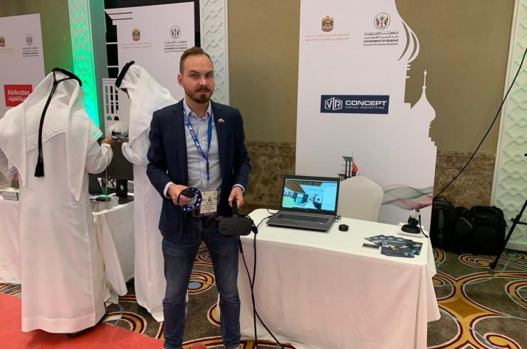 VR Concept принял участие в UAE-Russian Business Forum в Шарже!